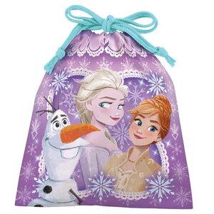 巾着袋 in 丸コーンパフ チョコレート バレンタイン チョコレート アナと雪の女王2ディズニー ハート 友チョコ 義理チョコ 自分チョコ プレゼント用 お菓子
