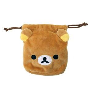 ミニバッグ ぬいぐるみ 巾着型 ネックポーチ リラックマ Rilakkuma サンエックス アイプランニング プレゼント 通販 メール便可