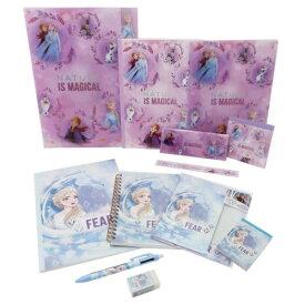 12点文具セット 文房具セット アナと雪の女王2 プレゼント 女の子向け 中学生 ディズニー おしゃれ 子供会 景品