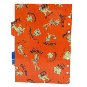 A5 6穴 ファイルブック用 インデックス シール台紙 2枚セット システム手帳 リフィル トイストーリー4ディズニー デルフィーノ リフィル交換可 通販 メール便可
