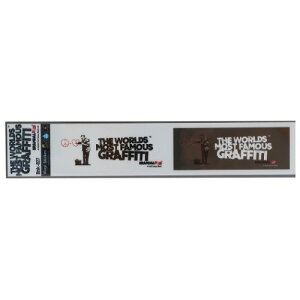 ビッグ シール ミシン目カット 2pcs ステッカー バンクシー SF Doctor Banksy ゼネラルステッカー 耐水耐光仕様 ART オフィシャル通販 メール便可