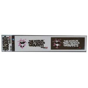 ミシン目カット 2pcs ステッカー ビッグ シール バンクシー PANDA Guns Banksy ゼネラルステッカー 耐水耐光仕様 ART オフィシャル通販 メール便可