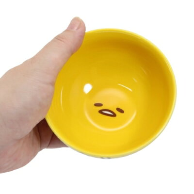 磁器製ライスボウルお茶碗ぐでたまフェイスシリーズサンリオ金正陶器日本製食器