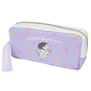 BOX ペンケース 筆箱 クレヨンしんちゃん パープルパジャマ マリモクラフト ペンポーチ アニメ