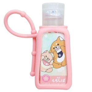 衛生雑貨 フレグランス ハンドジェル 忠犬もちしば ピンク 柴犬 エスケイジャパン アルコール洗浄