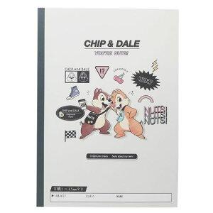 方眼ノート B5 学習帳 チップ&デール ロゴ ディズニー クラックス 小学校 入学準備 女の子向け メール便可