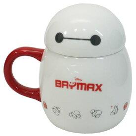磁器製 フタ付きMUG マグカップ ベイマックス ディズニー サンアート プレゼント