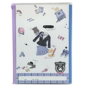 新入学 B5カバー付き れんらくノート 連絡帳 SHIBAGENIC クラックス 新入学 新学期準備文具 かわいい 女の子向け 保育園 幼稚園 小学生 メール便可