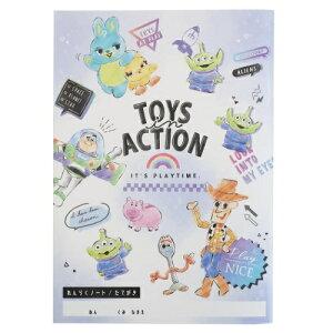 A5 れんらくノート 連絡帳 トイストーリー 2021SS ディズニー カミオジャパン 新学期準備文具 メール便可