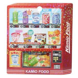 自販機 ミニ シールセット フレークシール カミオジャパン デコシール かわいい 小学生 中学生 男の子 女の子 メール便可