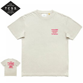 新作【あす楽】TCSS プリントTシャ【CREAM//BEIGE/RED/PINK/クリーム/ベージュ/ピンク/赤】アメカジ サーフ 西海岸【S/M/L/XL】TE18250