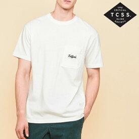 新作【あす楽】TCSS プリントTシャツ【WHITE/ホワイト/白】アメカジ サーフ 西海岸【S/M/L/XL】TE18251