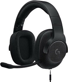 Logicool G ゲーミングヘッドセット G433BK ブラック Dolby 7.1ch ノイズキャンセリング マイク 付き PC PS4 Switch 3.5mm usb 軽量