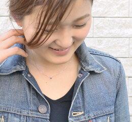 【あす楽】【選べる】カラーストーンプチネックレスペンダントK18