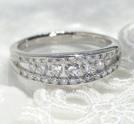 エタニティリング グラデーション ダイヤモンド Pt950 プラチナ ファッション ジュエリー アクセサリー レディース 指輪 リング ダイア エタニティ