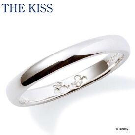 【ディズニーコレクション】 ディズニー / ペアリング / ミッキーマウス & ミニーマウス / THE KISS リング・指輪 シルバー (メンズ 単品) DI-SR1813DM ザキス 【送料無料】【Disneyzone】