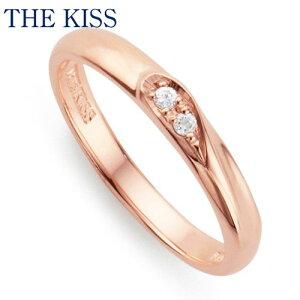 THE KISS シルバー ペアリング ( レディース 単品 ) ダイヤモンド ペアアクセサリー カップル に 人気 の ジュエリーブランド THEKISS ペア リング・指輪 記念日 プレゼント SR2414DM ザキス 【送