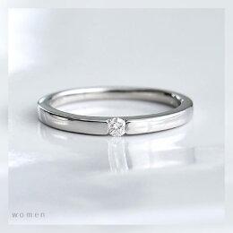 K18Pt950マリッジリングペアプラチナNO.6/送料無料結婚指輪ダイヤモンドペアリングメンズレディースリング指輪ジュエリーギフトプレゼント刻印名入れブライダル妻夫結婚記念日セカンドマリッジリング