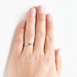 【15%ポイントバック】K18Pt950プラチナシンプルリング送料無料品質保証書付指輪ジュエリーシンプルメンズメンズジュエリーミル打ちアンティーク調
