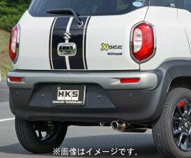 個人宅発送可能! HKS silent Hi-Power サイレントハイパワー マフラー SUZUKI スズキ クロスビー MN71S K10C(TURBO) 17/12- (31019-AS010)