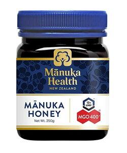 【Sale!!:送料無料】マヌカハニー MGO400 250g 【平行輸入品:即納!】【Manuka Health】|ケーキ ギフト ニュージーランド New Zealand はちみつ 蜂蜜 ハニー 天然 ナチュラル バレンタインデー