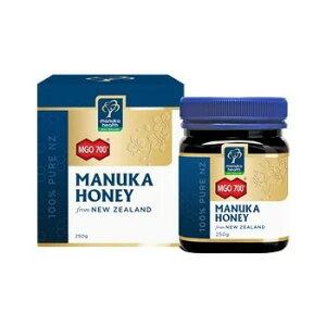 【Sale!!:送料無料】マヌカハニー MGO700 250g 【平行輸入品:即納】【Manuka Health】|ケーキ お歳暮 年始 ギフト ニュージーランド New Zealand はちみつ 蜂蜜