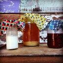 Bee Eco Wrap S (約18cm×18cm) 【送料188円 ( 追跡可能 メール便 ) 】 | ビー エコ 蜜蝋 ラップ エコラップ 蜜蝋ラップ ラッピング おしゃれ かわいい 楽しい 衛生 安全 オーガニック フードラップ 野菜の切り口 果物 お菓子包み コップのラップ 蓋