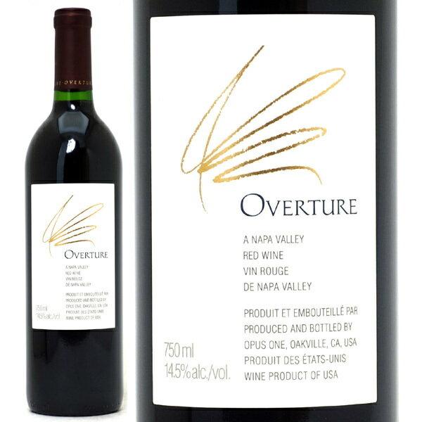 [NV] オーヴァーチュア(オーバーチュア) 750ml(オーパス ワンのセカンドラベル)赤ワイン【コク辛口】【ワイン】^QARM21Z0^