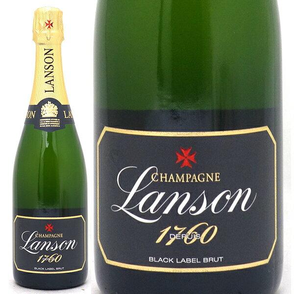 ランソン ブリュット ブラック ラベル 箱なし 750ml並行品 (シャンパーニュ)白【シャンパン コク辛口】【ワイン】【GVD】^VALS06Z0^