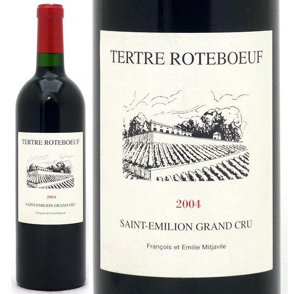 [2004] シャトー テルトル ロートブッフ 750ml(サンテミリオン特級)赤ワイン【コク辛口】【ワイン】^AKTR01A4^
