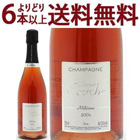 よりどり6本で送料無料[2004] ミレジム ブリュット ロゼ BIO 750mlヴァンサン クーシュ(シャンパン フランス シャンパーニュ)ロゼ泡 コク辛口 ワイン ^VACC36A4^