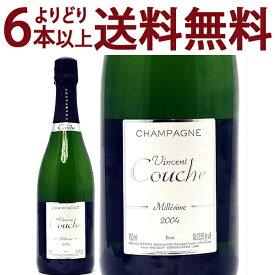 よりどり6本で送料無料[2004] ミレジム エクストラ ブリュット BIO 750mlヴァンサン クーシュ(シャンパン フランス シャンパーニュ)白泡 コク辛口 ワイン ^VACC66A4^