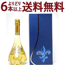 よりどり6本で送料無料[2006] ルイ キャーンズ ルイ15世 ブリュット 箱付 750mlド ヴノージュ ドゥ ヴノージュ(シャンパン フランス シャンパーニュ)白泡シャンパン コク辛口 ワイン ^VAVG71A6^