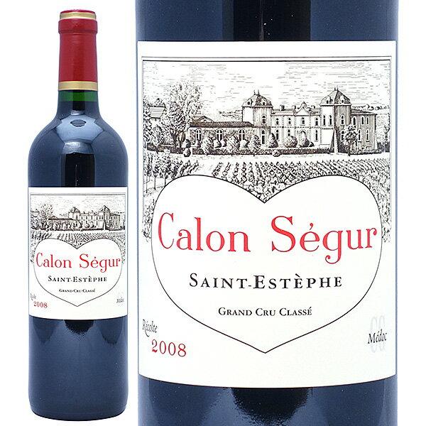 2008 シャトー カロン セギュール 750mlサンテステフ第3級 赤ワイン コク辛口 ワイン AB ワイン^AACS01A8^