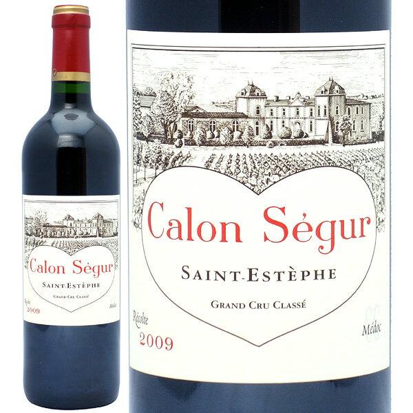2009 シャトー カロン セギュール 750mlサンテステフ第3級 赤ワイン コク辛口 ワイン AB ^AACS01A9^