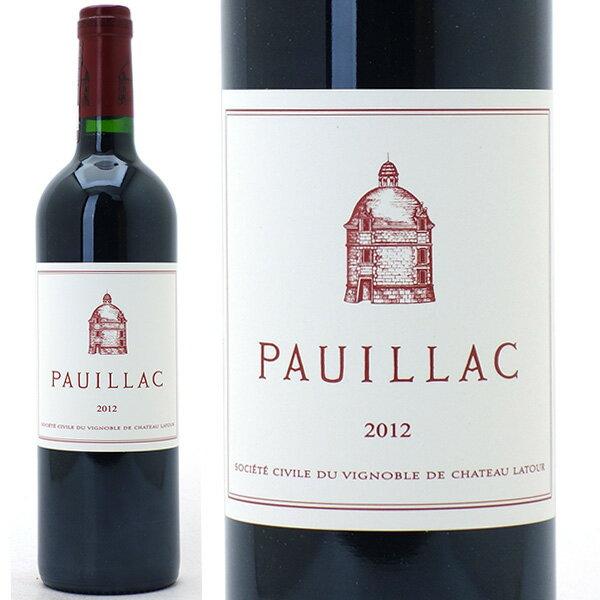 2012 ポイヤック ド ラトゥール 750mlポイヤック 赤ワイン コク辛口 ワイン AB ^ABLA3112^