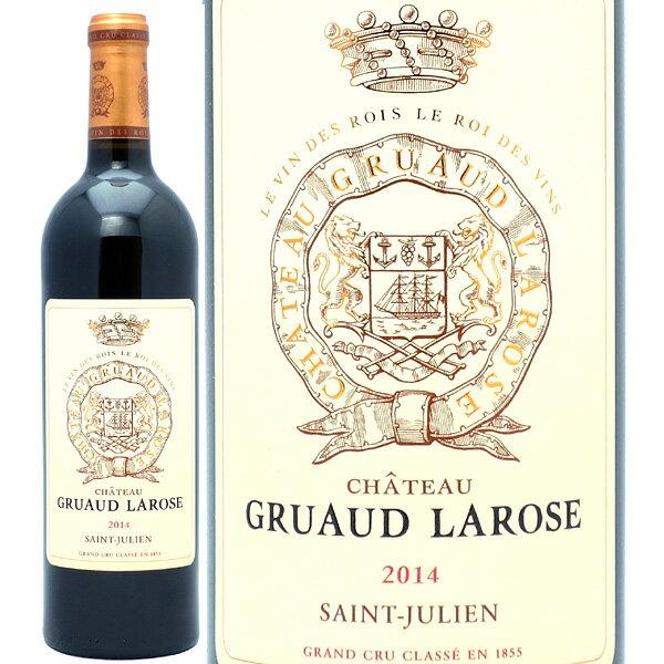 2014 シャトー グリュオ ラローズ 750mlサンジュリアン第2級 赤ワイン コク辛口 ワイン AB ^ACGS0114^