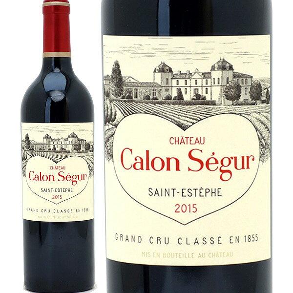 2015 シャトー カロン セギュール 750mlサンテステフ第3級 赤ワイン コク辛口 ワイン ^AACS0115^