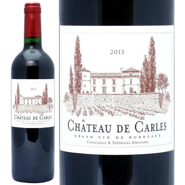 2015 シャトー ド カルル 750mlフロンサック 赤ワイン コク辛口 ワイン AB ^ANHR2115^