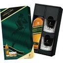 ジョニーウォーカー グリーンラベル 15年 ギフトBOX グラス2個付(正規品)【スコッチウイスキー】^YCJWGBGL^