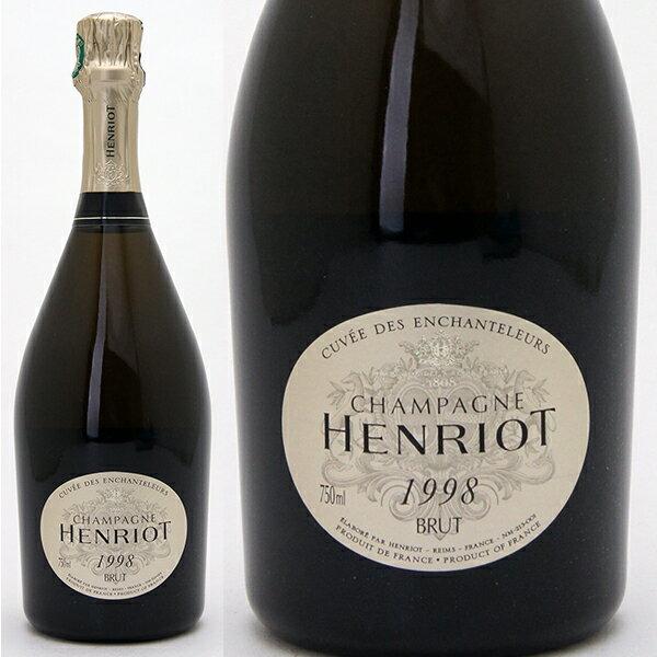 アンリオ [1998] キュヴェ アンシャンテルール 750ml 箱なし 並行品(シャンパーニュ)白【シャンパン コク辛口】^VAHT3698^