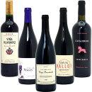 【送料無料】BIOワイン極上赤だけ5本セット≪第25弾≫【楽ギフ_のし宛書】【RCP】【ワインセット】