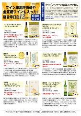 【送料無料】ワイン誌高評価蔵や金賞ワインも入った辛口白12本セットワインセット(6種類各2本)チラシK^W0ZS14SE^