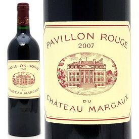 [2007] パヴィヨン ルージュ デュ シャトー マルゴー 750mlマルゴー (ボルドー フランス) 赤ワイン コク辛口 ワイン ^ADMA21A7^