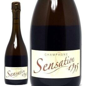 [1995] サンサション ブリュット BIO 750mlヴァンサン クーシュ(シャンパン フランス シャンパーニュ)白泡 コク辛口 ワイン ^VACC7695^