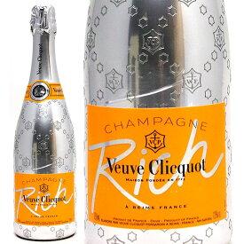 ヴーヴ クリコ リッチ 箱なし 並行品 750mlヴーヴ・クリコ(シャンパン フランス シャンパーニュ)白泡 やや甘口 ^VAVC76Z0^