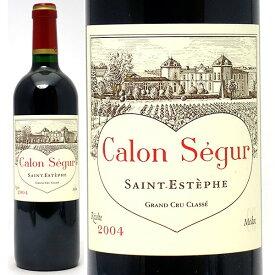 [2004] シャトー カロン セギュール 750ml(サンテステフ第3級 ボルドー フランス)赤ワイン コク辛口 ワイン ^AACS01A4^