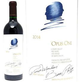 送料無料 [2014] オーパスワン 750ml(カリフォルニア)赤ワイン コク辛口 6本ご購入でワイン木箱付 ワイン ^QARM0114^