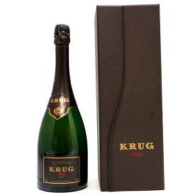 [2003] クリュッグ ヴィンテージ ギフト箱付 並行品 750ml(シャンパン フランス シャンパーニュ)白泡 コク辛口 ワイン ^VAKR02A3^