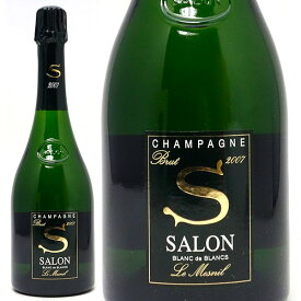 [2007] サロン ブラン ド ブラン ブリュット 箱なし 正規品 750ml(シャンパン フランス シャンパーニュ)白泡 コク辛口 ワイン ^VASO02A7^